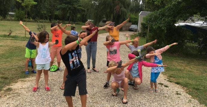Animations enfants au camping Dordogne - Sarlat