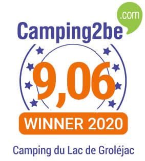Note Camping sur Camping2be