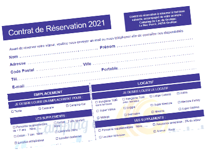 Contrat de resevation