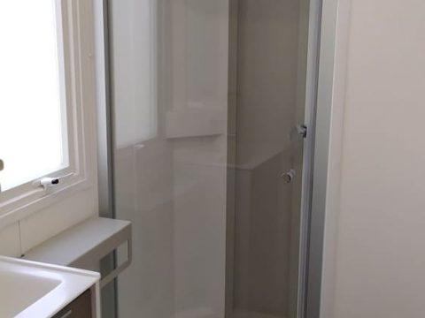 Photo de la salle de bain du mobil home Bermudes proche de Sarlat