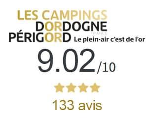 Note Camping sur Les Campings Dordogne Perigord