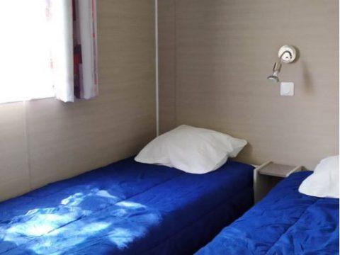 Photo de la seconde chambre enfant du mobil-home Nirvana