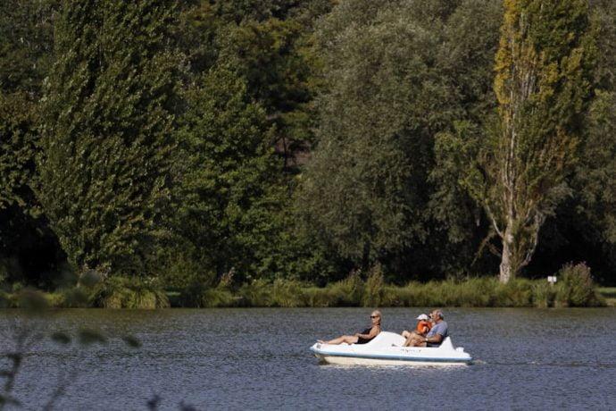 Pedalos Camping Dordogne