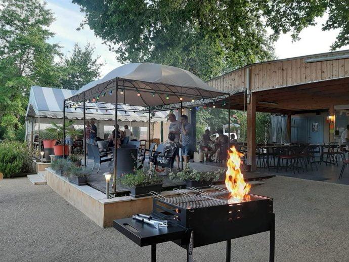 Barbecue Camping Dordogne
