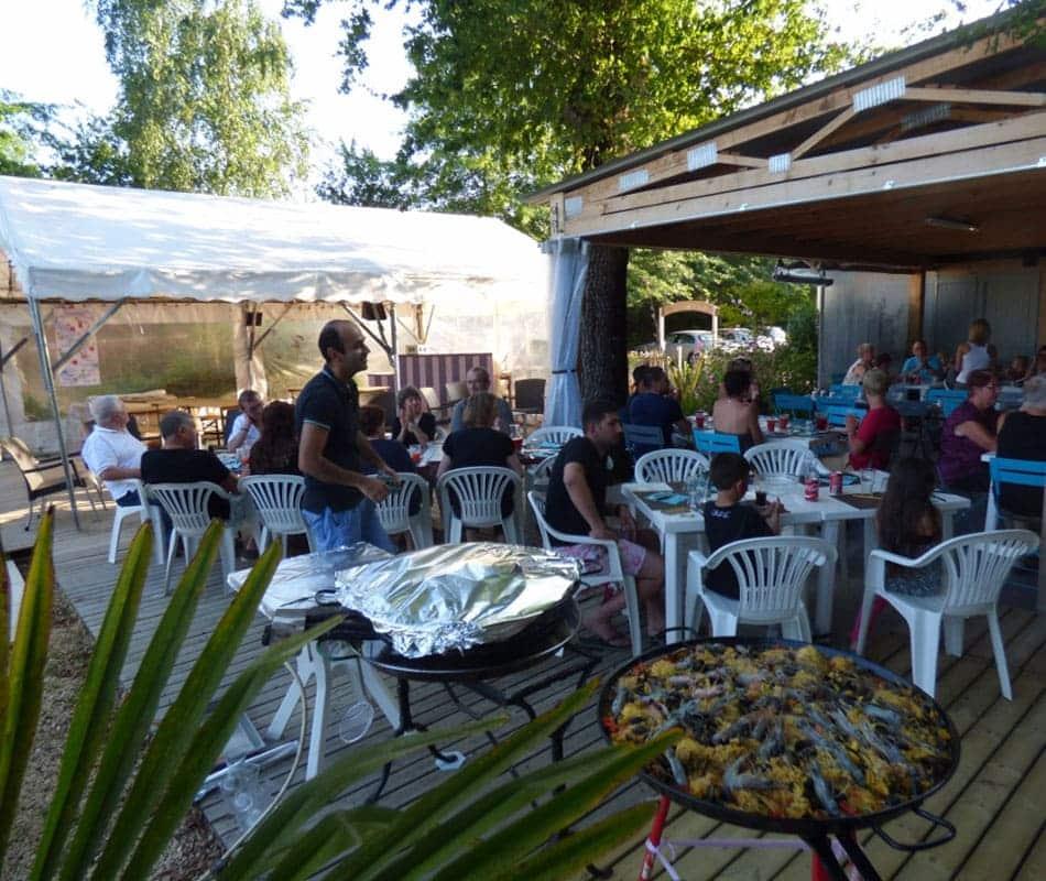 Snack Bar Camping Dordogne
