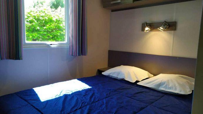 Photo de la chambre du mobil home Astria dans Camping Dordogne