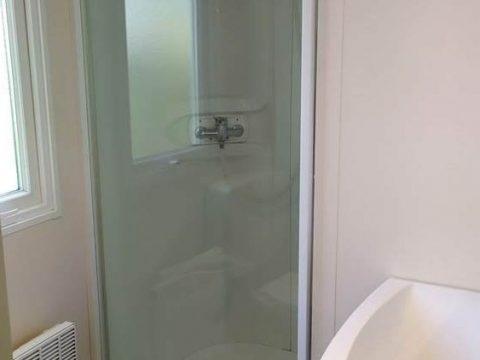 Photo de la salle de bain du mobil-home Astria près de Sarlat