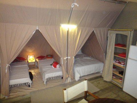 Photo des chambres de la tente Lodge en camping Sarlat